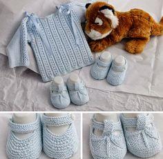 Örgü Bebek Kazak ve Patik Yapımı