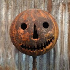Early Halloween Pumpkin Lantern--featured on American Pickers