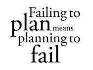 Bildresultat för fail to plan plan to fail