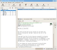 Email client for Linux, Windows.