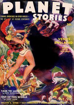 Norman Saunders / Planet Stories, Summer 1942