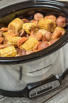 Slow Cooker Low County Boil The Effective Pictures We Offer You About crockpot recipes healthy A qua Crock Pot Food, Crockpot Dishes, Crock Pot Slow Cooker, Slow Cooker Recipes, Crockpot Meals, Crockpot Gumbo Recipe, Sausage Crockpot Recipes, Andouille Sausage Recipes, Slow Cooker Jambalaya