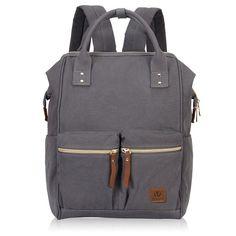 bf200928e1d2 Stylish Doctor Style Multipurpose School Travel Backpack for Men Women -  Grey VGD - CW1857K93U4