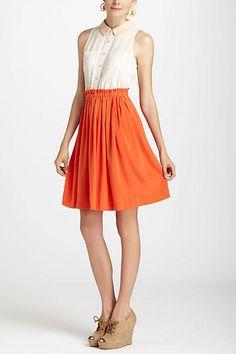 Colorblocked Shirtdress - anthropologie.com