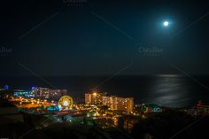 Check out Full moon night rhodos citiy by ChristianThür Photography on Creative Market Full Moon Night, Holiday Photos, Creative, Island, Marketing, Movie Posters, Pictures, Photography, Holidays