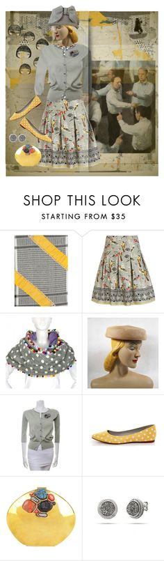 """""""Blame Game"""" by halebugg ❤ liked on Polyvore featuring Erfurt, Uttam Boutique, Irregular Choice and From St Xavier"""