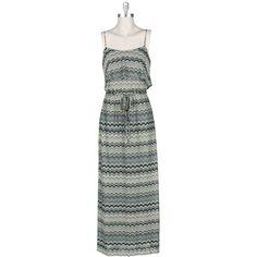 Gabby Skye Missoni Knit Maxi Dress #VonMaur