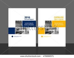Cover design for annual report and business catalog, magazine, flyer or booklet. cover vector sample image with Gradient Mesh. - Buy this stock vector and explore similar vectors at Adobe Stock Booklet Cover Design, Brochure Cover Design, Graphic Design Brochure, Brochure Template, Coperate Design, Book Design Layout, Design Trends, Magazine Ideas, Magazine Design