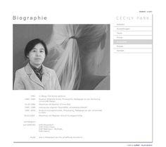 Cecily Park, in Daegu Süd Korea geboren, lebt in Düsseldorf als freischaffende Künstlerin. Info zum Webdesign: eyelikeit - visual solutions, Düsseldorf: http://eyelikeit.com/index.php?de_cecily-park
