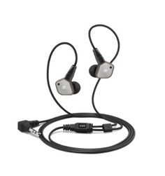 Sennheiser Headphone, The IE 80 features high-fidelity stereo sound and high noise attenuation withan enhanced design. Encased in a brushed metalhousing and rugged, interchangeable cable, it is built for maximum robustness. Sennheiser Headphones, Stereo Headphones, In Ear Headphones, Best Earbuds, High End Hifi, Unique Gadgets, Hifi Stereo, Beats By Dre, Brushed Metal