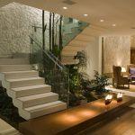 Projeto lindo de uma escada de mármore branco em casa!