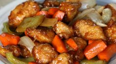 甘酸っぱさが絶妙!鶏と野菜のバルサミコあんかけ🐔