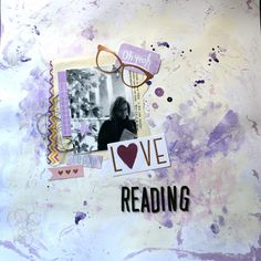 Mad Scrap Project Love Reading, Mad, Scrapbook, Blog, Frame, Projects, Inspiration, Home Decor, Picture Frame