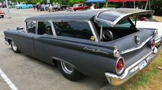 ☜(◕¨◕)☞ 59 Ford Country Sedan - ( custom Ford Galaxie, Old Fords, Us Cars, Car Ford, Ford Motor Company, Station Wagon, Old Trucks, Concept Cars, Custom Cars