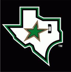 Dallas Stars Alternate Logo (1993/94)