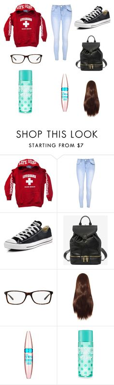 """""""Untitled #133"""" by sadiecoda on Polyvore featuring Glamorous, Converse, Alexander McQueen, Ralph Lauren and Maybelline"""