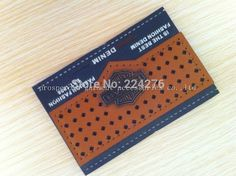 custom made jeans leather label  leather label manufacturers