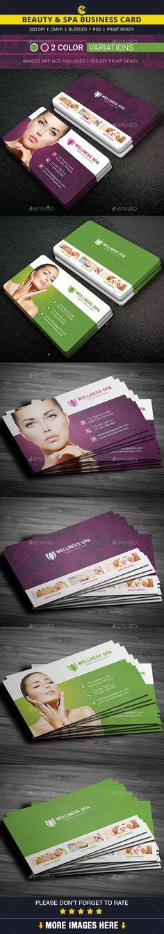 Beauty & Spa Business Card