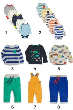 How to Build a Baby's First Capsule Wardrobe
