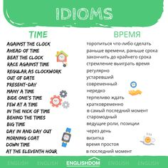 #english #englishvocab #englishvocabulary #englishverbs #englishwords #learnenglish #learnenglishwithus #englishlanguage #englishgrammar #learningenglish #learningenglishisfun #englishtips #britishenglish #americanenglish #englishpronunciation #englishpractice #idioms #time English Idioms, English Phrases, English Lessons, English Grammar, Sms Language, English Language Learning, Learn English Words, English Study, Grammar And Vocabulary