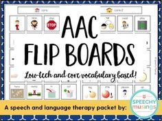 Low tech AAC boards