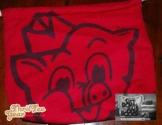 Piggly Wiggly ThrifTee Gear Reusable Lunchbag made from upcycled t-shirts. www.thrifteegear.com. $14.95