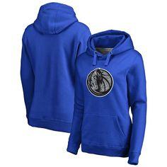 Dallas Mavericks Fanatics Branded Women's Static Logo Pullover Hoodie - Royal