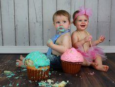 twins cake smash | Cake Smash!