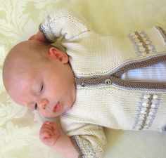 (6) Name: 'Knitting : Baby Jacket with optional hood