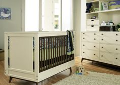 Mid Century Modern Crib