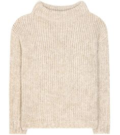 TOM FORD Mohair and wool-blend sweater. #tomford #cloth #针织服饰