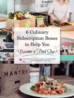 6 Culinary Subscription Boxes to Help You Become a Food Star