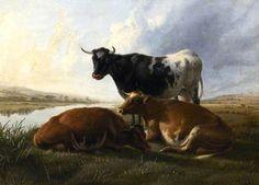 Canterbury Meadows by Thomas Sidney Cooper (1803-1902)