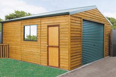"""""""4600mm(w) x 8700mm(l)  The Warehouse is a generous size timber workshop for customers who need a bigger than normal timber shed. Ample width and space for any project or purpose you have in mind. The Warehouse is often turned into a pool house or studio. """""""