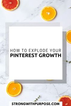 Curious about how you can explode your Pinterest growth and sustain it over time? Read this post! [Strong with Purpose] #pinterestgrowth