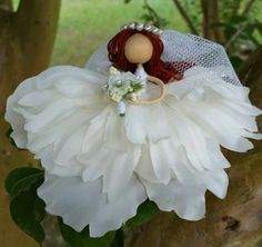 Hey, I found this really awesome Etsy listing at https://www.etsy.com/listing/246558027/bride-fairy-doll-flower-fairy-bride
