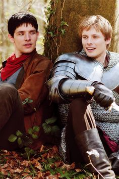 Merlin and Arthur.