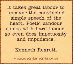 Quotable - Kenneth Rexroth