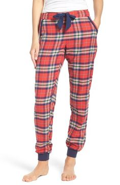Free shipping and returns on Make + Model Plaid Flannel Lounge Pants at Nordstrom.com. These off-duty jogger pants made from classically cozy plaid flannel have an easy drawstring waist and slouchy cuffs for that perfect fit.