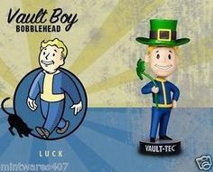 "Fallout 3 Vault Boy Luck 101 Bobblehead - 5"" NEW"