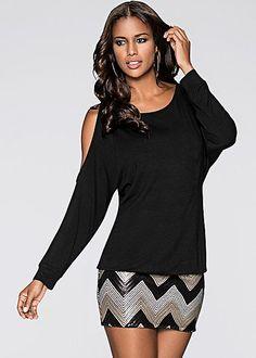0f1a352748a %PC% Cold shoulder sequin dress from VENUS Formal Dress Shops