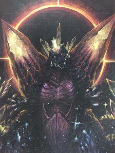 Space Godzilla - born of a black hole