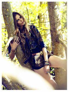 Image via We Heart It #fashionphotography #urban #VogueEspana #victordemarchelier #gipsyqueen #monikasawicka