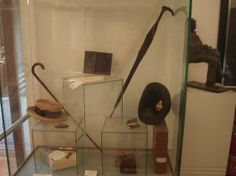 Tesla's personal items. Nikola Tesla Museum in Belgrade, Serbia