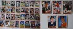 1991 Topps Baltimore Orioles Team Set of 37 Baseball Cards With Traded #topps #BaltimoreOrioles
