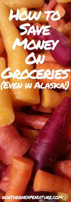 How to Save Money on Groceries (even in Alaska!) - Northern Expenditure