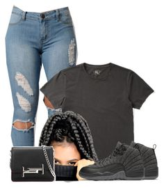 """""""Untitled #1307"""" by bubblesthegr8t ❤ liked on Polyvore featuring Ralph Lauren, NIKE and Tod's"""
