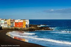 Stunning Beaches of the World: Puerto Cruz, Tenerife, Canary Islands  Long before Puerto Cruz was a popular tourist destination it catered to the privileged elite who were drawn to the tranquility of this stunning location. This lead to its reputation as a stunning vacation destination. From the elegant plazas and shopping to the stunning beach Puerto Cruz offers something for everyone. barretttravel.globaltravel.com pamelabarrett22@gmail.com