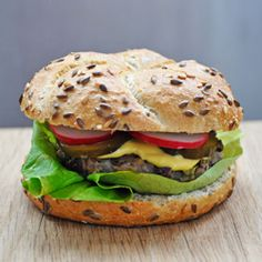 "Vegetarian ""Beef"" Burger | Azuki Beans Veggie Burgers or the best vegetarian burgers ever!"