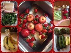 How to keep fruits and veggies longer... #cleaneating #fruit #vegetables #veggiewash